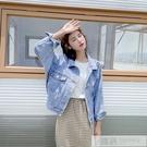 牛仔外套女寬鬆韓版2020春裝新款網紅抖...