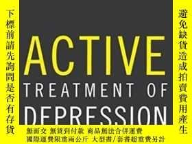 二手書博民逛書店Active罕見Treatment Of Depression