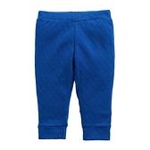童裝 台灣現貨 空氣棉小童素色長褲-01款寶藍色【80226】