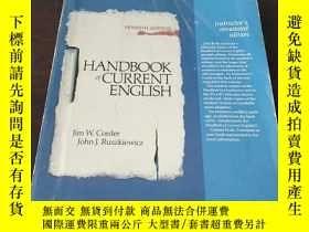 二手書博民逛書店Handbook罕見of Current English(英文原