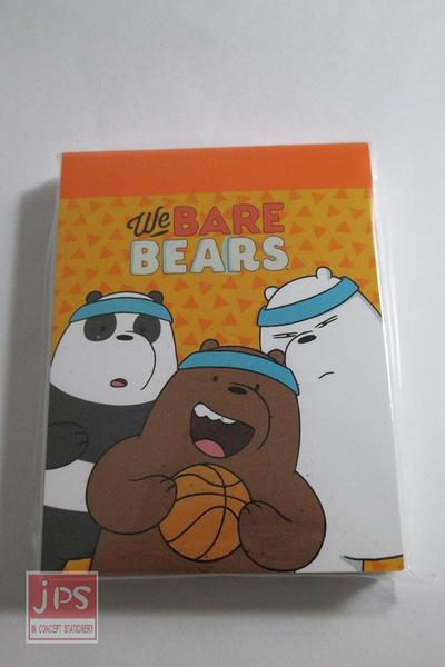 熊熊遇見你 小便條紙 黃色 KRT-667169B