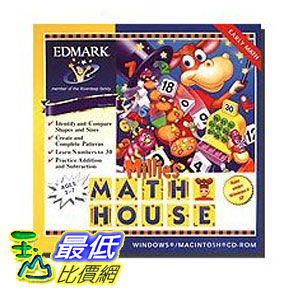 [美國直購 ShopUSA] Millie's Math House by Digital 1 Stop $654