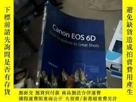 二手書博民逛書店Canon罕見EOS 6d: From Snapshots to