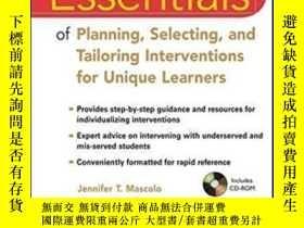 二手書博民逛書店Essentials罕見Of Planning Selecting And Tailoring Intervent