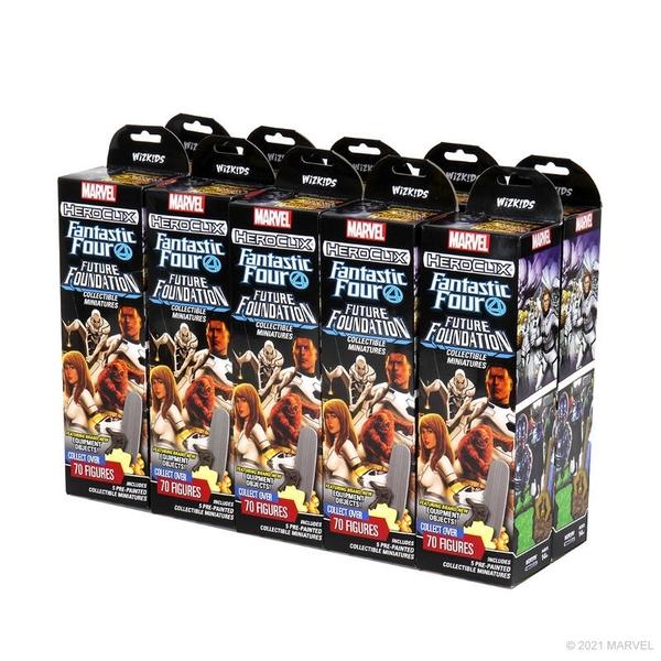 『高雄龐奇桌遊』 反轉英雄 漫威 驚奇四超人 補充條 十條 HEROCLIX 正版桌上遊戲專賣店