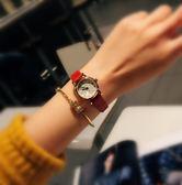 考試手錶女學生日韓簡約女士小表盤時尚復古小清新潮流細帶表女款【一周年店慶限時85折】