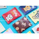 【吃貨零錢包】韓版迷你創意小錢包 趣味零錢袋 可愛卡通硬幣包 零食餅乾錢包