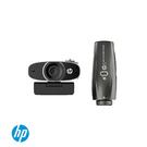 【預購】HP 惠普 w600 MUFU雙鏡頭降噪視訊攝影機 視訊 智能 降噪 人聲辨視 遠距離 線上辦公 3年保固