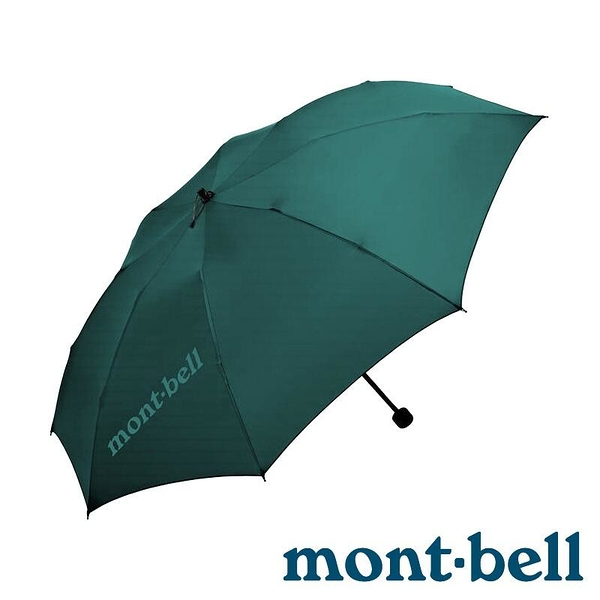 『VENUM旗艦店』【mont-bell】LONG TAIL TREKKING不對稱輕量折疊傘『鴨綠』1128553