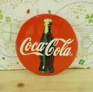 【震撼精品百貨】可口可樂_Coca Cola~圓胸章-紅