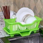 廚房瀝水碗架帶蓋灶臺櫥柜水槽置物架【不二雜貨】