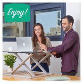 折疊桌 鋁合金移動筆記本站立辦公桌折疊升降電腦桌上工作台桌子站立式 古梵希igo