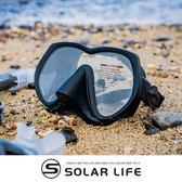 AROPEC 輕量霧面無框單面鏡 Basalt玄武岩(可收納於BC口袋).浮潛面鏡蛙鏡 自由潛水面鏡 低容積面鏡