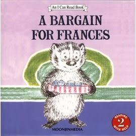 〈汪培珽英文書單〉〈An I Can Read系列:Level 2)  A BARGAIN FOR FRANCES / (單CD)