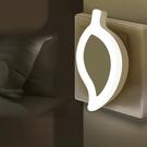 小夜燈 LED小夜燈床頭臥室燈光控感應護眼插電家用過道睡眠起夜嬰兒喂奶 愛丫 免運