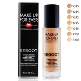 MAKE UP FOR EVER REBOOT活潤精華粉底液#R208(30ml)