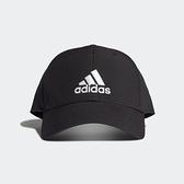 ADIDAS 黑 刺繡 三線 老帽 涼感 基本款 (布魯克林) FK0898
