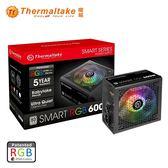 Thermaltake 曜越 Smart RGB 600W 電源供應器