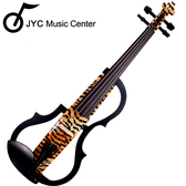 ★JYC Music★高階SV-150虎背紋靜音提琴(雙輸出/三段EQ) 限量!!