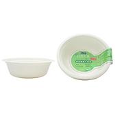 自然風環保植纖飯碗(大)500ml-10入【愛買】