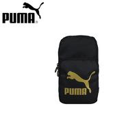 【橘子包包館】PUMA 單肩包/單肩後背包/胸包 07664701 黑色