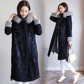 牛仔外套 2018冬季韓版新款bf寬松加厚加絨羊羔毛牛仔外套棉襖