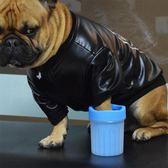 狗狗洗腳杯神器洗爪器貓咪泰迪金毛寵物洗腳杯神器足部清潔用品igo