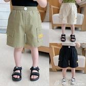 棉小班男童褲子夏裝新款寶寶工裝短褲外穿兒童洋氣休閒褲童裝 格蘭小舖