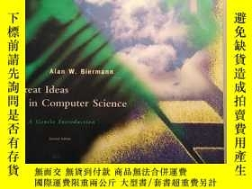 二手書博民逛書店Great罕見Ideas in Computer Science