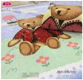 御芙專櫃˙寢屋川【熊與花園】(共2色)雙層設計˙超細˙盒嬰幼兒毛毯(100*140 cm )滿月推薦禮盒