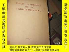 二手書博民逛書店VISION罕見PANORAMICA DE LA HISTORI