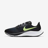 Nike Air Zoom Pegasus 37 [BQ9646-001] 男鞋 慢跑 運動 休閒 輕量 緩衝 黑 螢黃