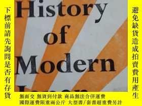 二手書博民逛書店A罕見SHORT ECONOMIC HISTORY OF MOD