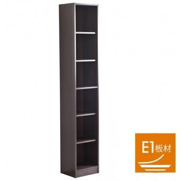 德克窄六格書櫃 採E1板材