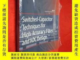 二手書博民逛書店Switched-Capacitor罕見Techniques f