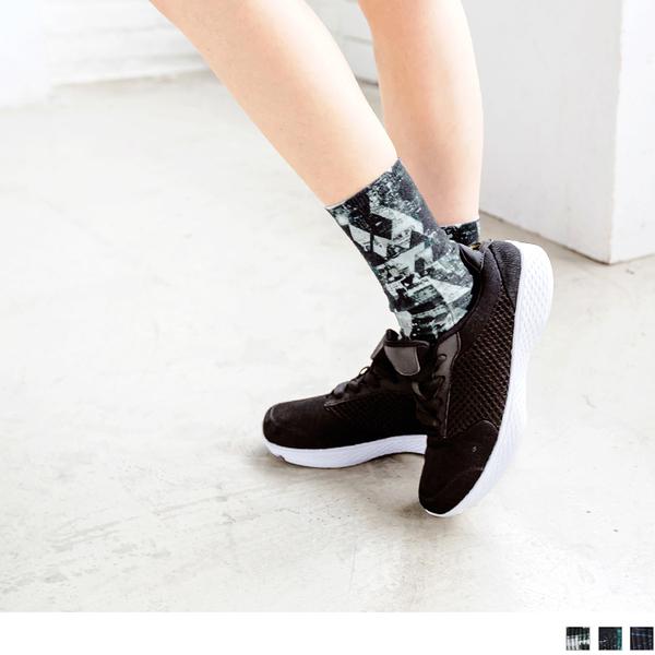《KS0278》高質感3D列印運動短襪 OB嚴選