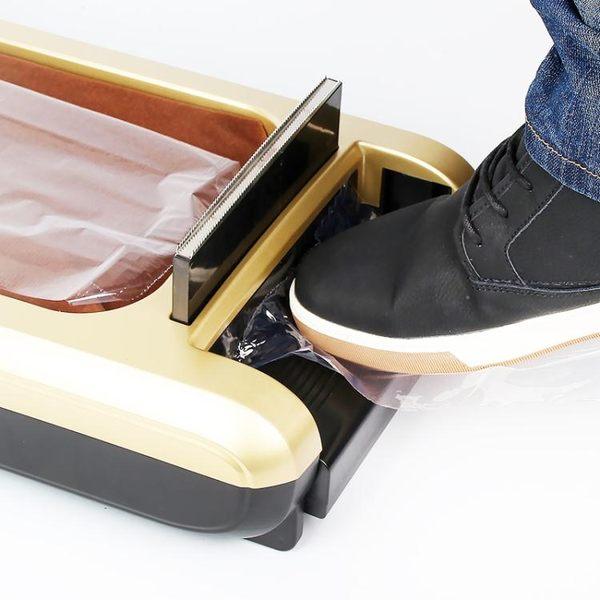 全自動鞋套機家用辦公鞋膜機一次性智慧腳套覆膜鞋模機『米菲良品』
