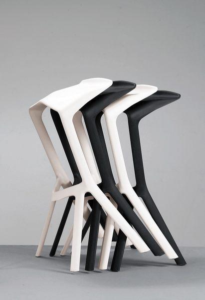 吧檯椅 MK-530-8 珊蒂造型椅(黑)【大眾家居舘】