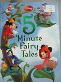 【書寶二手書T4/原文小說_WFR】Disney 5-Minute Fairy Tales_Disney Enterpr