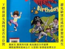 二手書博民逛書店horrid罕見henry s birthday activity book :可怕的亨利的生日活動書Y200