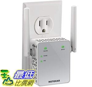[8美國直購] NETGEAR WiFi Range Extender AC750 Dual Band |WiFi coverage up to 750 Mbps (EX3700)