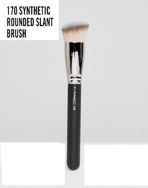 英國直購 MAC Cosmetics 170 Synthetic Rounded Slant 圓頭斜角粉底刷