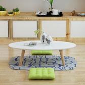 雙12鉅惠 榻榻米小茶幾飄窗小書桌日式炕桌簡約實木小圓茶幾窗臺茶桌矮桌