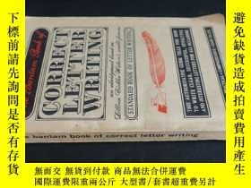 二手書博民逛書店the罕見bantam book of correct lett