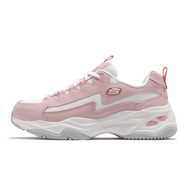 SKECHERS D LITE 4.0 女款 老爹鞋 休閒鞋 厚底 粉 149491ROS