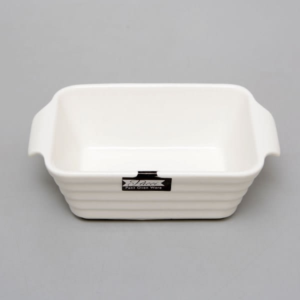 【Pearl】 長方雙耳深烤盤 / L-1853 適微波爐.烤箱