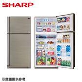【SHARP 夏普】541公升變頻雙門冰箱SJ-PD54V-SL