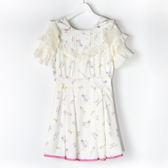[titty&co]LIZ LISA歐風印花甜美洋裝(白)