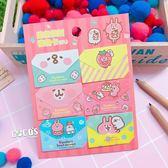 正版 KANAHEI 卡娜赫拉的小動物 兔兔 P助 迷你信封禮物卡 卡片 B款 COCOS KS030