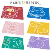 加拿大 Marcus & Marcus 動物樂園矽膠餐墊 防滑寶寶餐墊  329936 好娃娃